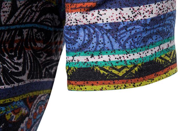 Casual Blouse Men Beach Slim Color Stripe Men 39 s Shirt Fashion Short Sleeve Camisa masculina Hawaiian Shirt Male Summer in Casual Shirts from Men 39 s Clothing