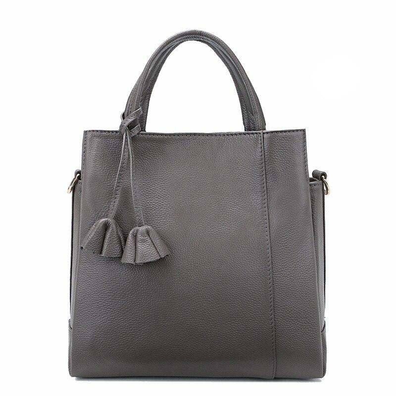 última tendência sacolas de mulheres Material Principal : Couro Genuíno