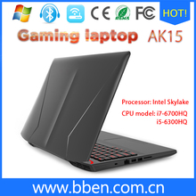 BBen 15.6 inches Intel Laptop Gaming Computer Intel i7 CPU Intel Skylake i7 6700HQ Quad Core DDR4 Windows 10 Backlit Keyboard(China (Mainland))
