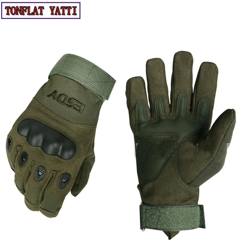New 2019 Black0hawk Army Military Men Gloves Mechani7x Tactical Combat Gloves Gants Moto Non-slip Wear-resistant 3-color Gloves
