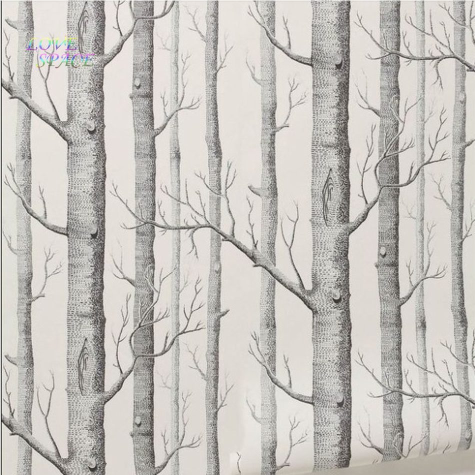 q qihang modern minimalist tree pattern nonwoven - 800×800