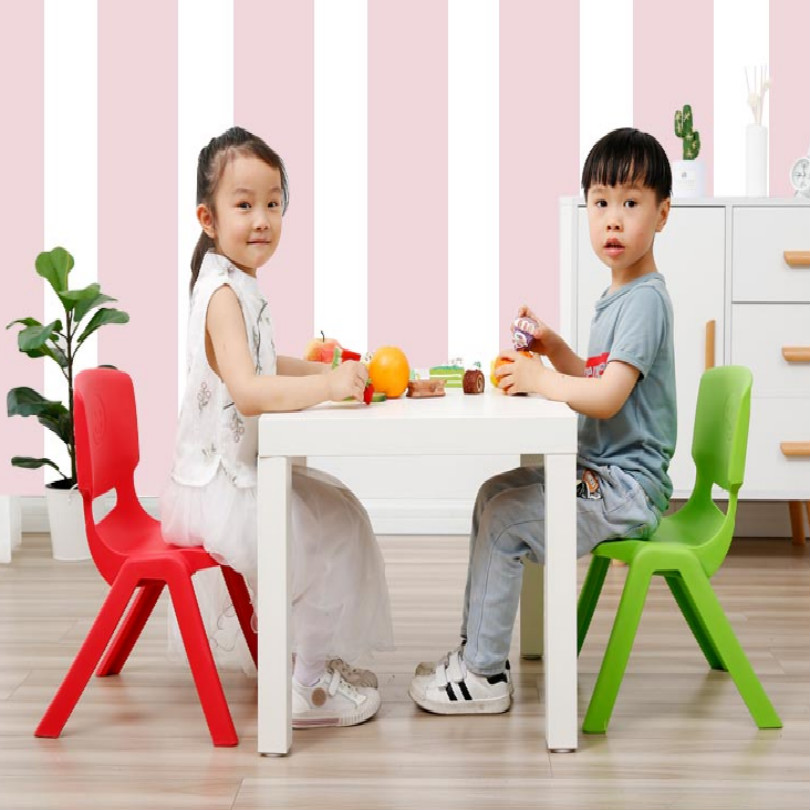 41*26cm Children Chair For Kids Furniture Kids Chair Plastic Fit For 1-4years Old Free Shipping
