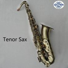 Frankreich Henri Selmer Tenorsaxophon Instrumente Referenz 54 Bronze Überzog Saxofone Musikinstrumente