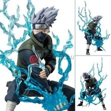 HOT Japanese Anime Naruto Hatake Kakashi 6 PVC Action Figure Deluxe Collection Model font b Toy