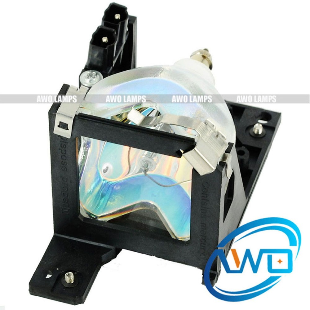 AWO 180-Day Warranty Projector Lamp Module ELPLP19 / V13H010L19 for Epson EMP-30 / PowerLite 30c Free Shipping!! awo 180 day warranty projector lamp module elplp19 v13h010l19 for epson emp 30 powerlite 30c free shipping