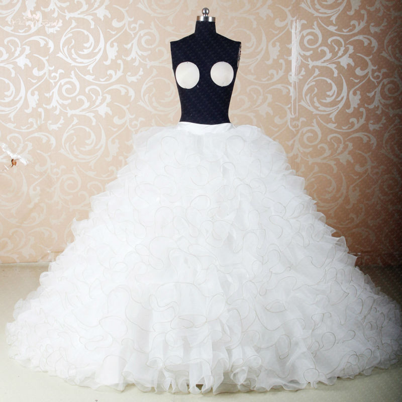 RS279 Custom Made DIY Seperate Fluffy Organza Skirt Used For Ball ...