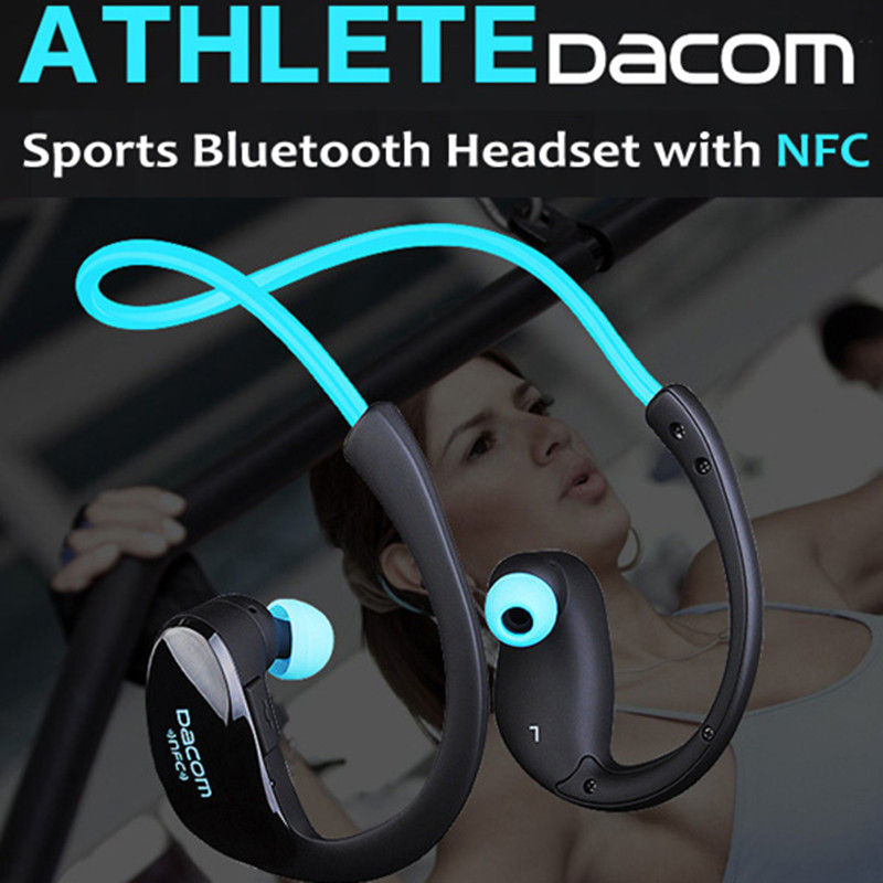 DACOM ATHLETE NFC Wireless Bluetooth V4.1 Headset Sport Stereo Earphone auriculares deportivos with Mic for Iphone xiaomi huawei