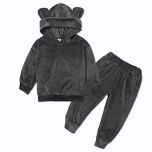 Autumn Winter Costume Kids Clothes Toddler Girls Sport Suit Tracksuit For Girls Clothes Sets Boys Sport Suit Children Clothing