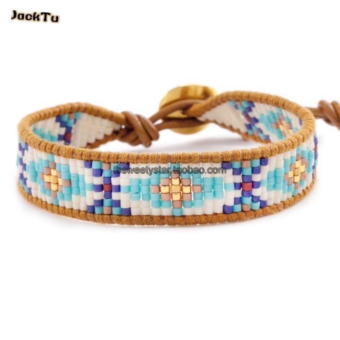 Exclusive Seed Beads Bohemia Weaving Brazilian Bracelet