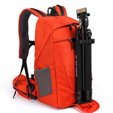 CAREELL antirrobo slr digital profesional ocasional de doble hombro bolsa de la cámara bolsa de la cámara slr fotografía mochila C3011