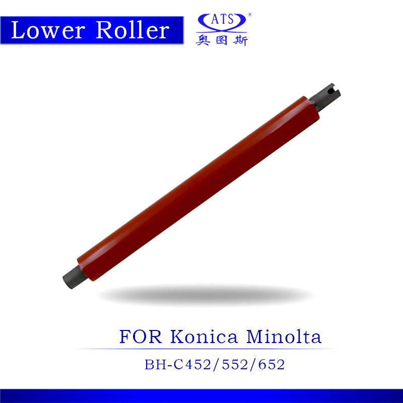 1PCS Photocopy Machine Lower Pressure Fuser Roller For Konica Minolta BH C 452 552 652  Copier Parts BHC452 2pcs high quality new arrival copier spare parts driver board for minolta di 220 photocopy machine part di220