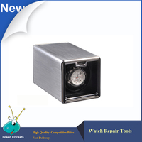 Latest Classical Aluminum Alloy Automatic Watch Winder Box Ultra Quiet Motor 4 Modes Watch Winder