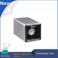 Neueste klassische Aluminiumlegierung Automatische Uhrenbeweger box  Extrem ruhiger Motor 4 Modi Uhrenbeweger