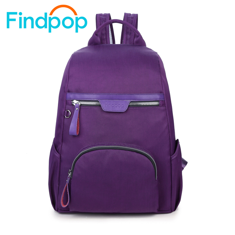 Findpop New Backpack Women School Bag For Teenager 2017 Fashion Waterproof Laptop Backpacks Female Large Capacity Backpack Men ly12014the new leisure backpack hiking backpack shoulders laptop bag male or female capacity students bag fashion women backpack