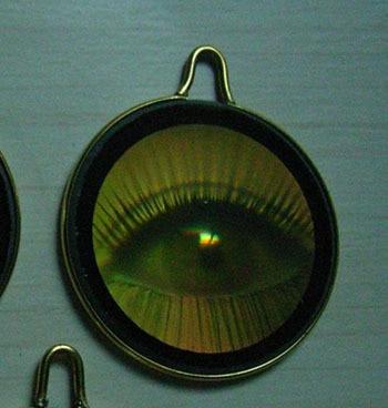 Hologram necklace pendant eyelash opening in pendant necklaces from hologram necklace pendant eyelash opening aloadofball Choice Image