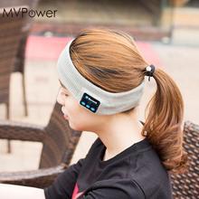 MVpower Wireless Bluetooth Knitting music Headband Headset Sleep Sports headpiece headkerchief Running yoga Gym Phone headphone