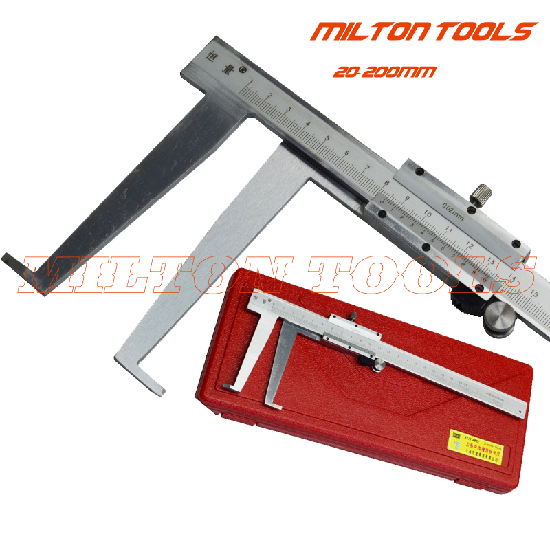 1Pcs 20 200mm Inside Groove Vernier Caliper inside caliper to measure groove