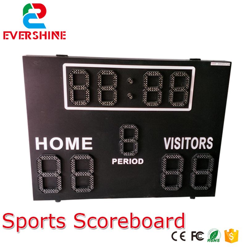 Good price led sport display board Led sports activities scoreboard basketball sport score boards