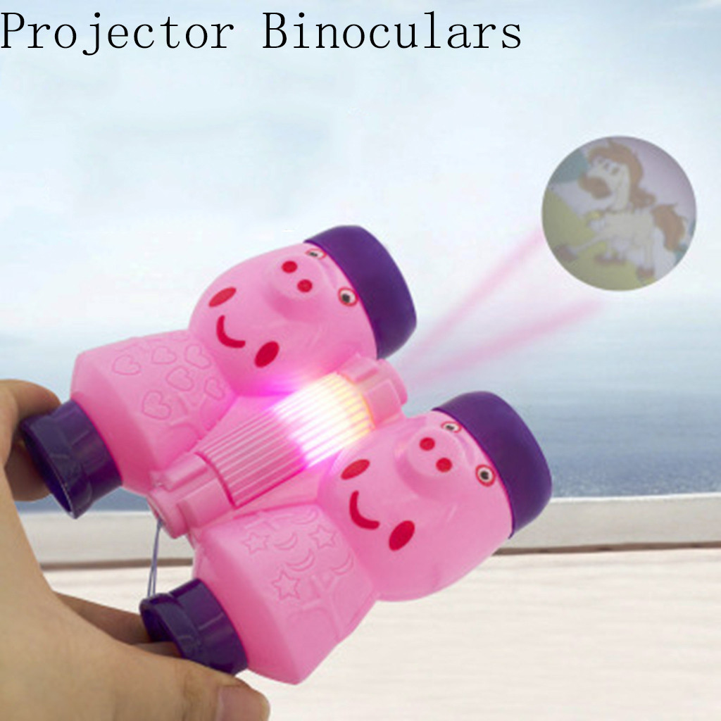 outdoor games for adult Projector Binoculars Pink Educational Device Bright Shining Kids Best Gifts twister game climbing holds