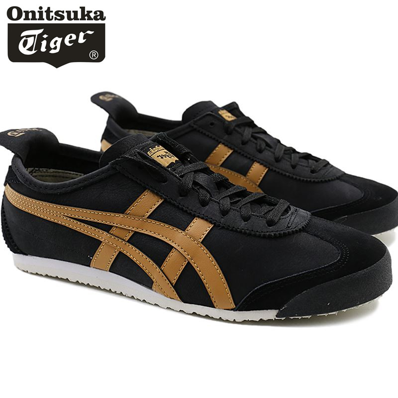 huge selection of f3584 4428e US $56.39 10% OFF|Original ONITSUKA TIGER Mid Runner Classics sheepskin  leather Men Shoes Women Sneakers Badminton Sports Shoes Size 36 44-in ...