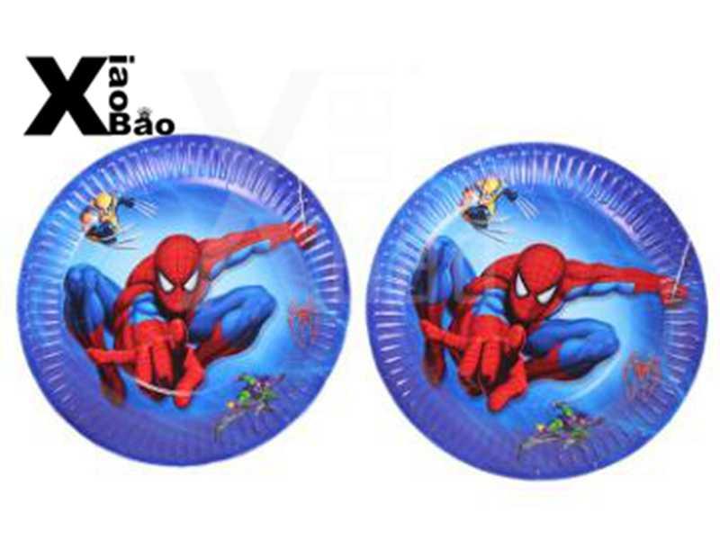 Spiderman papel vajilla taza pancarta invitación mantel Topper globo pegatina Favor chico fiesta vacaciones regalos de cumpleaños