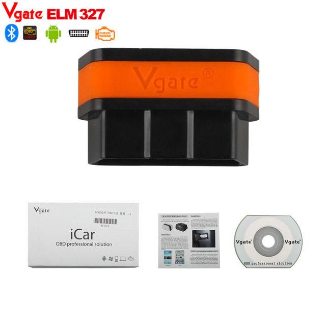 2017 ELM327 Vgate iCar2 Bluetooth ELM327 OBD II OBD2 EOBD Scanner ELM 327 Adaptor iCar ELM327 Diagnostic Adapter For Android PC