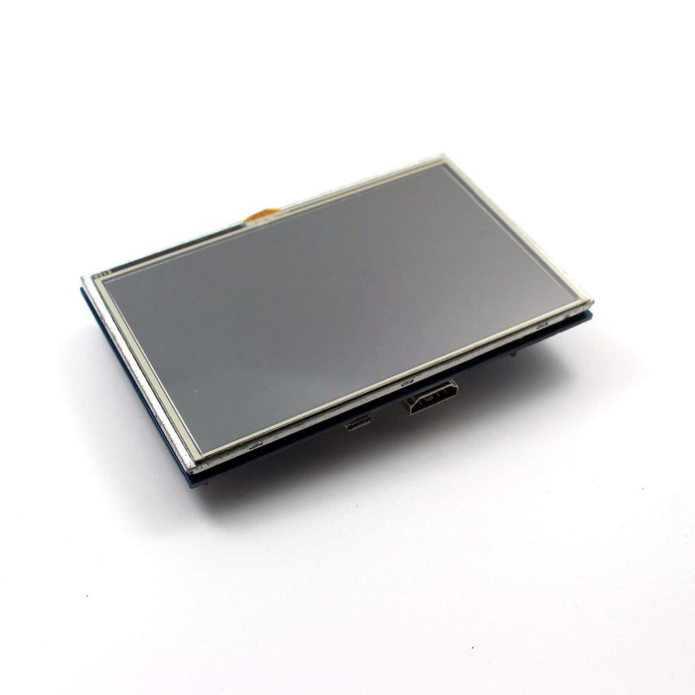 5 pouce LCD HDMI Écran Tactile Affichage 800x480 TFT LCD Module de Panneau avec Tactile Stylo pour Raspberry Pi 3 modèle B/B + Banane Pi chaude - 4