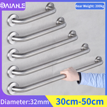 Barrier Free Handrail Stainless Steel Bathroom Shower Grab Bars for Elderly Disabled Bathtub Safety Handle Wall Mount Towel Rack safety handrail stainless steel bathroom grab bars for elderly disabled anti slip shower bathtub handle wall mounted towel rack