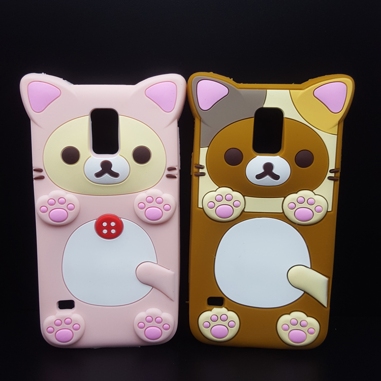 New Rilaka Bear Soft Phone Cases For Iphone Samsung Lg Silicone Back Cover
