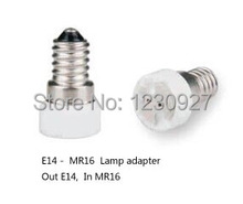 E14 Для MR16 лампы Адаптер Выход E14 Внутренняя Mr16 бесплатная доставка