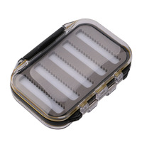 High Quality Portable Double Side Waterproof ABS Plastic Foam Fishing Baits Lure Box Organizer Storage Case Fishing Accessories Fishing Tackle Boxes Sports & Entertainment -