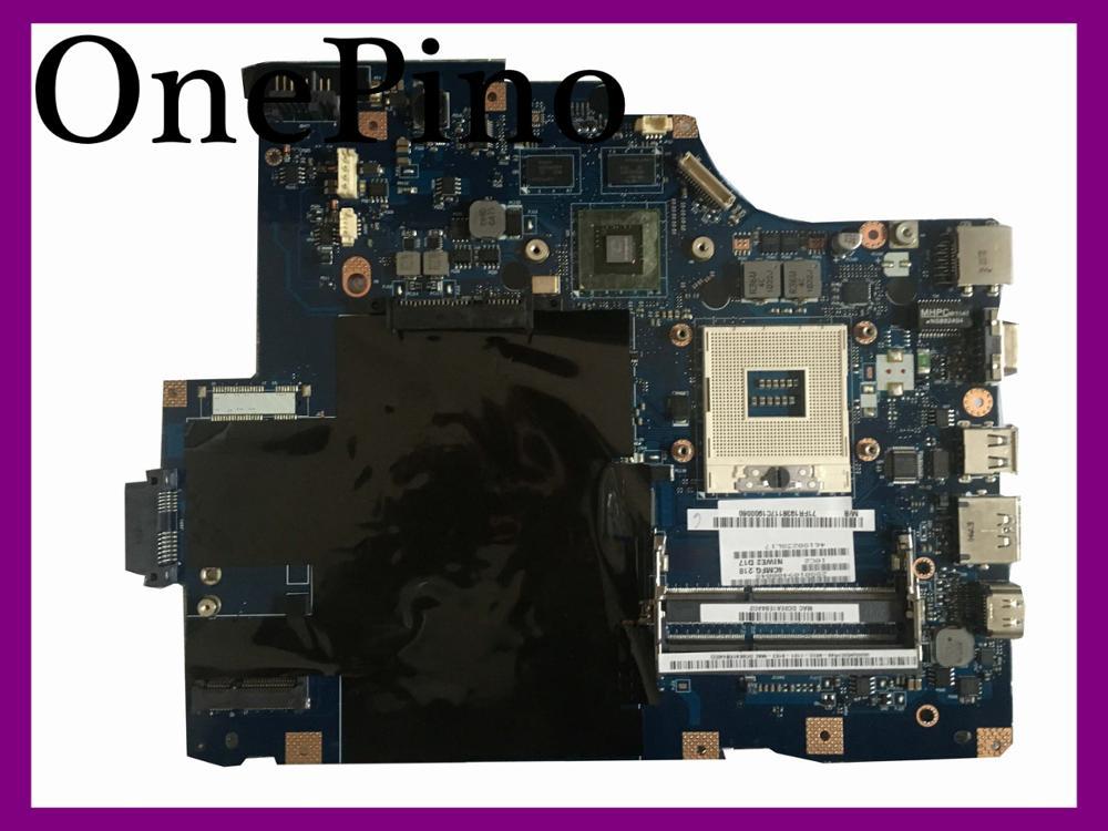 For Lenovo G560 laptop font b Motherboard b font NIWE2 LA 5752P 11S69034707 HM55 VRAM 1GB
