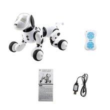 Робот-собака, электронный питомец, умный робот-игрушка 2,4G, умный беспроводной говорящий пульт дистанционного управления, детский подарок на день рождения
