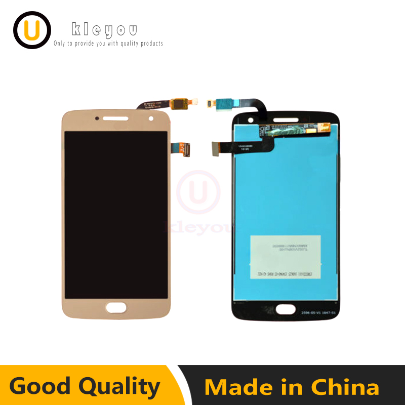 Mobile Phone Adapters 2 Color For Motorola Moto G5 Plus Xt1686 Lcd Display Screen Touch Digitizer Cellphones & Telecommunications