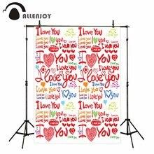 Здесь можно купить  Allenjoy vinyl photographic background Love kiss wedding romantic party fantasy backdrop photography photocall props AI format