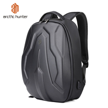 2019 Mens Hard Shell Backpack Fashion Waterproof 15.6 inch M