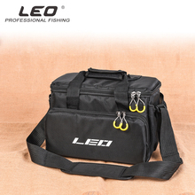 цена на Waterproof Fishing Bag Large Capacity Multifunctional Lure Fishing Tackle Pack Outdoor Shoulder Bags 32x23x20cm