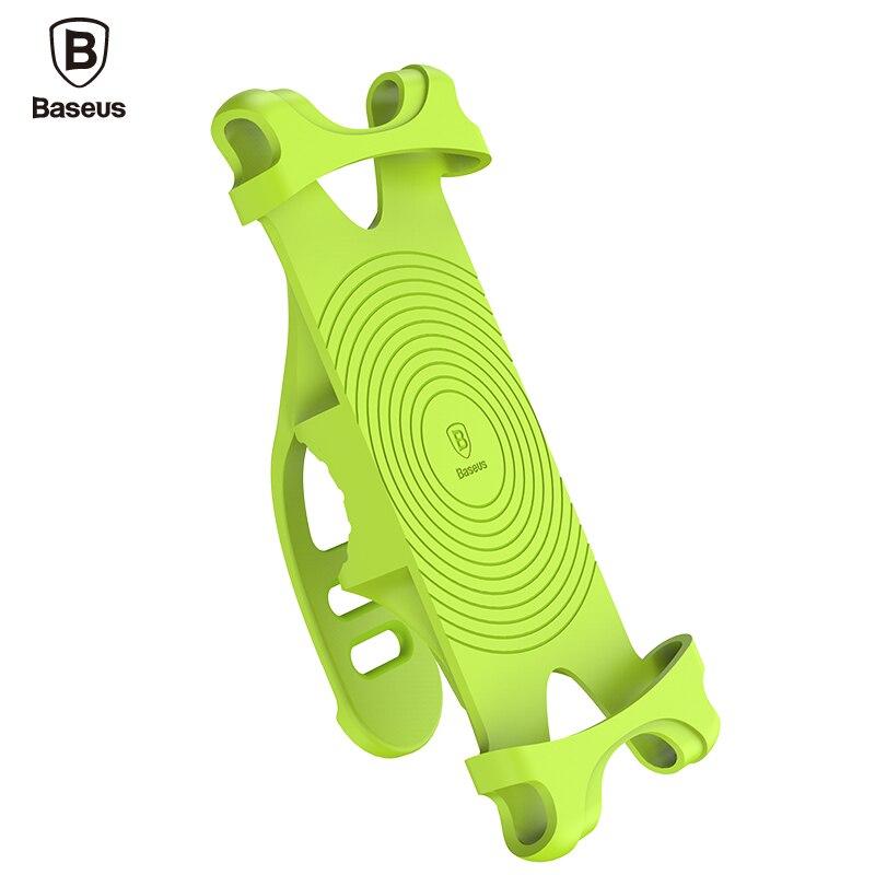 imágenes para Baseus universal de bicicletas bike mount teléfono sostenedor del teléfono del sostenedor del soporte para iphone 7 7 Más 6 s 6 Más 5 5S SÍ Cualquier Smartphone Gps