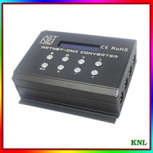 Led DMX controller artnet signaal, DMX USB interface voor Matrix Podium lighing controle, Artnet-SD Converter 2048 kanaal(China (Mainland))