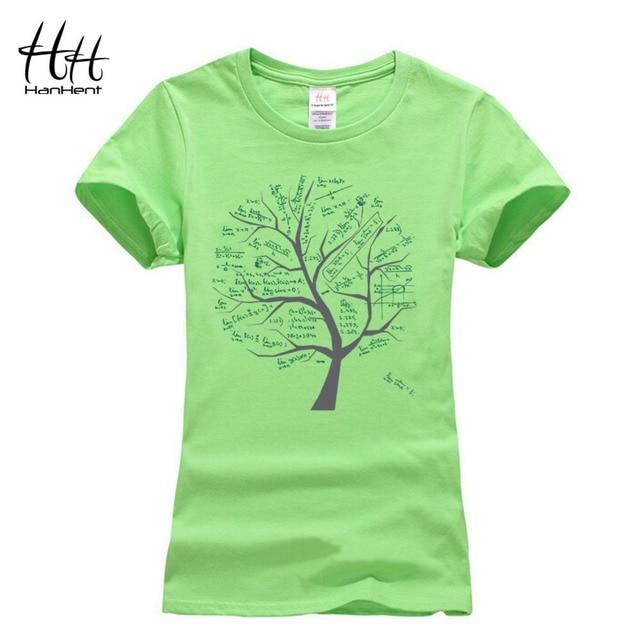 fe2269c7a7 HanHent Matemática Árvores camisas Engraçadas de T Mulheres 2016 Moda das  Mulheres The Big Bang Theory