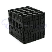 10Pcs 4x5 Cell Spacer 18650 Battery Radiating Shell Pack Plastic Heat Holder #R179T#Drop Shipping(China (Mainland))