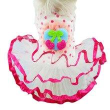 Высокое качество CharmingCool милый привлекательный питомец маленькая собака кошка горошек принцесса одежда костюм Hondenkleding# T2