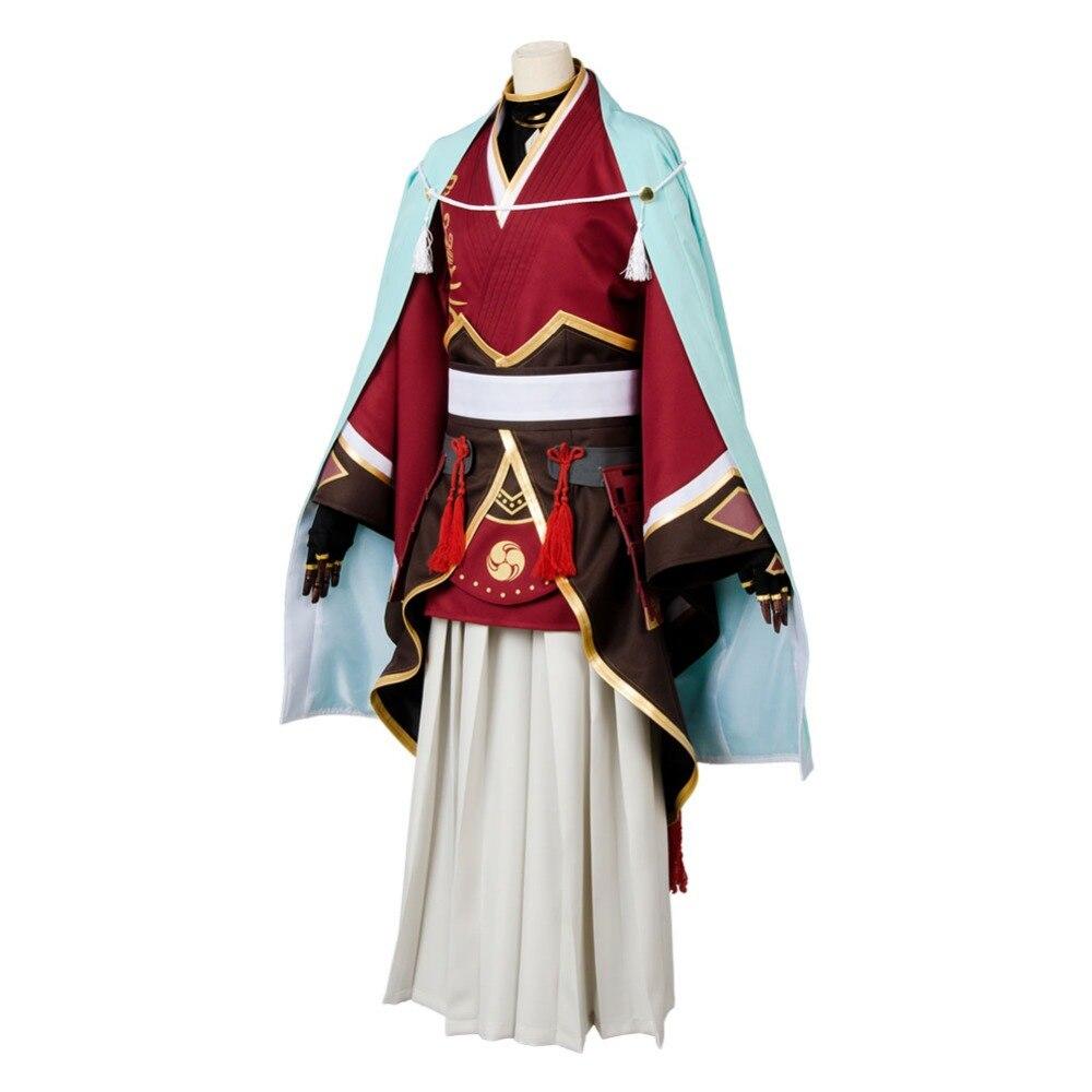 Details about  /Touken Ranbu Izuminokami Kanesada Cosplay Costume Kimono Dress Suit Uniform Gown