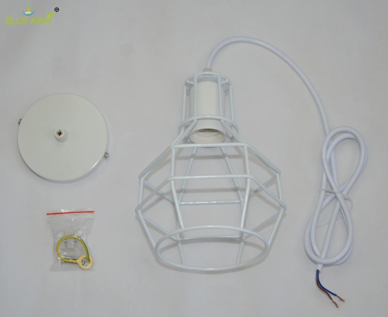 de ferro pingente lâmpada e27 110 v-220