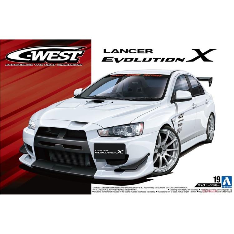 1/24 CWEST LANCER Evolution X `07 05320