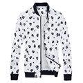 Новый 2016 осень панк-стиль мода черепа печати искусственная кожа куртка мужчины jaqueta де couro masculina мужской одежды размер m-6xl PY4-1