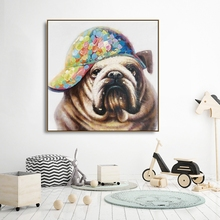 Watercolor Dog Animals Canvas Painting Calligraphy Poster and Prints Living Room House Wall Decor Art Home Decoration Picture
