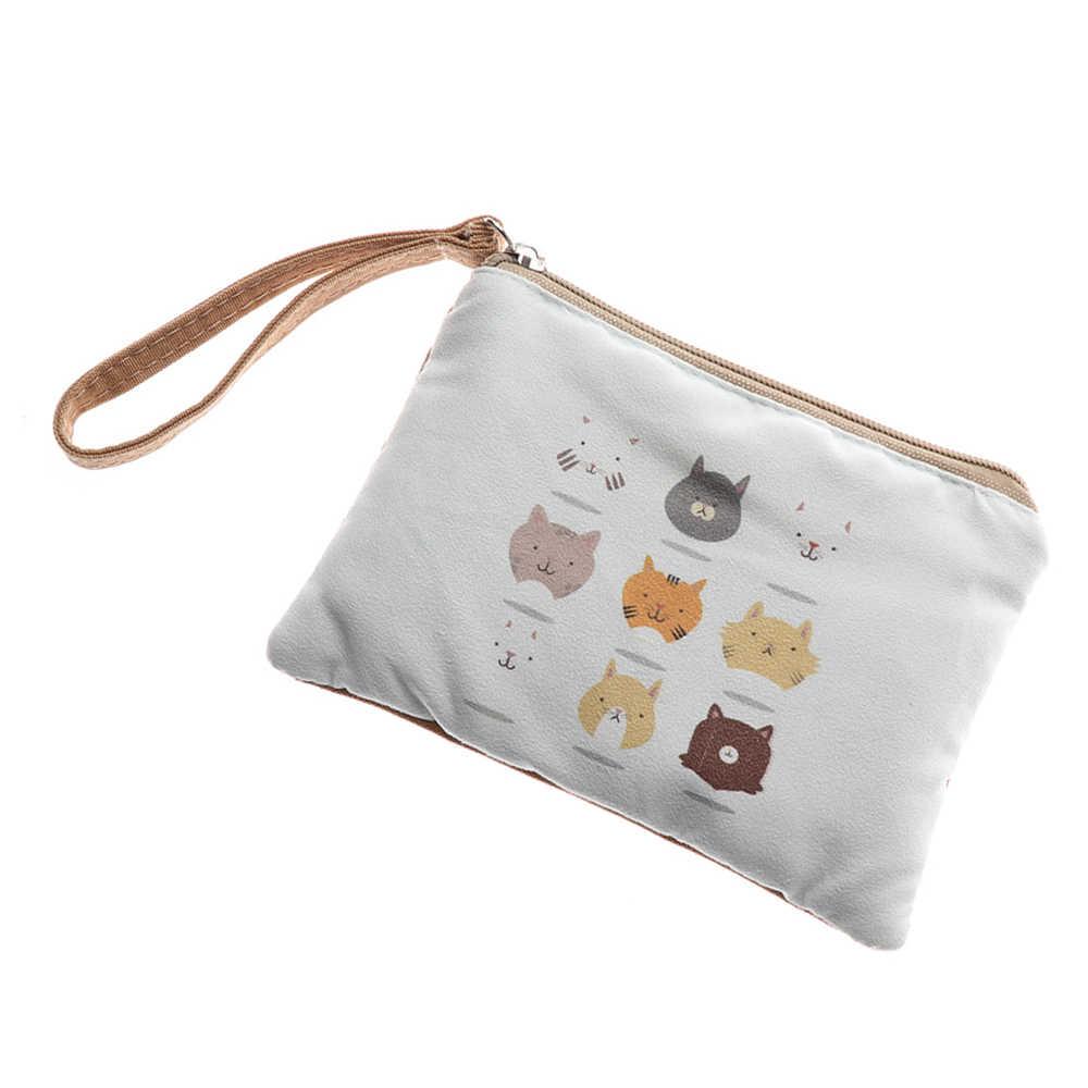 722bc02c5218 Women's Fashion Coin Purse Ladies Day Clutches Canvas Purses Vintage  Storage Bags Purse for Coins Women Floral Wallet Pouch