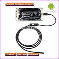 5.5mm 1.5 M Módulo de Câmera Endoscópio Endoscópio Inspeção 6LED USB OTG Android À Prova D' Água Pesca Submarina Para Windows PC