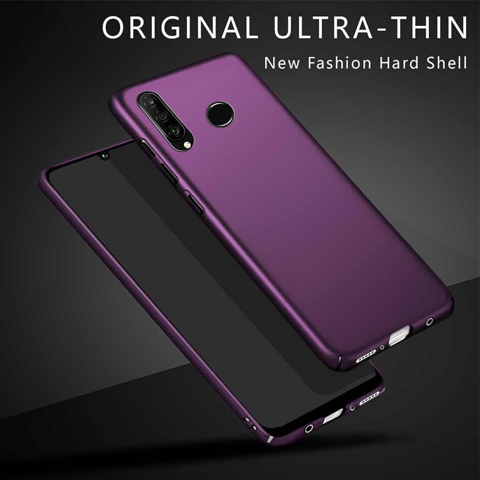 Untuk Huawei P30 Lite Case Slim Matte Hard Pc Back Cover untuk Huawei P30 Pro untuk Huawei P30lite p30pro P 30 P30 Fundas